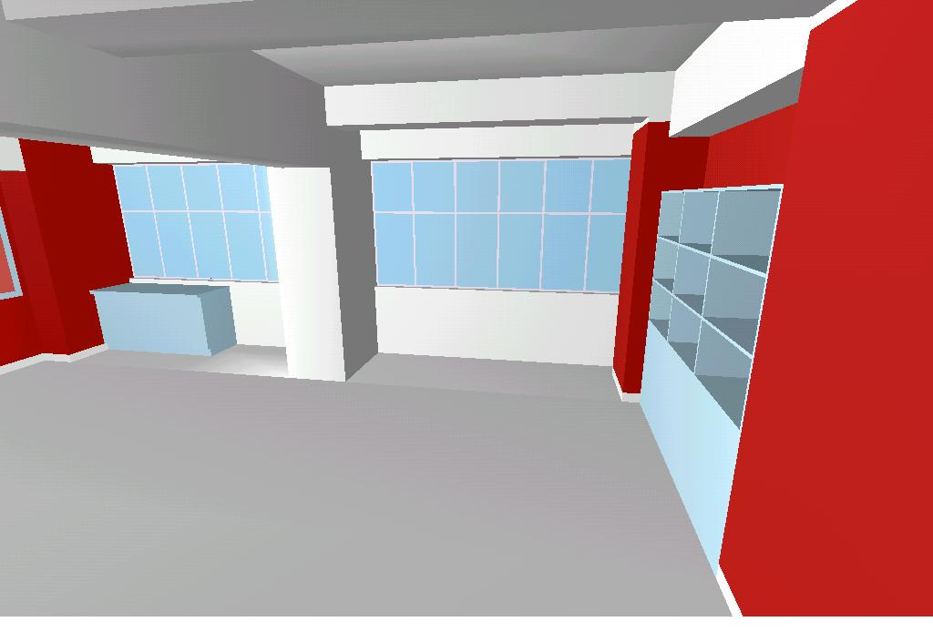 3d Room Model Of Primary School Classroom